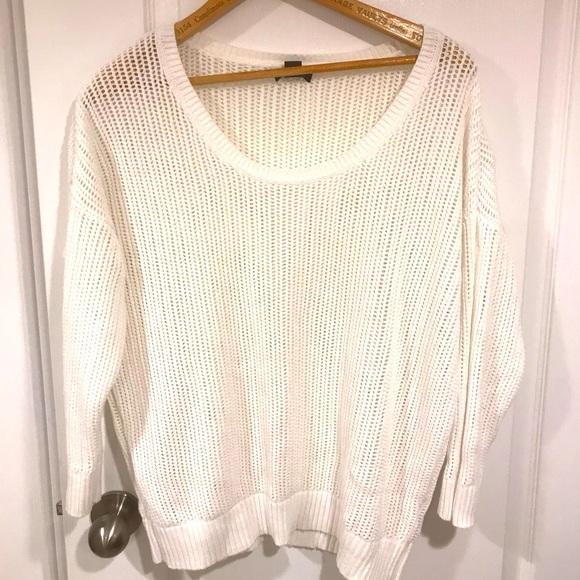 4 for $19 - Calvin Klein Open Knit Sweater XL
